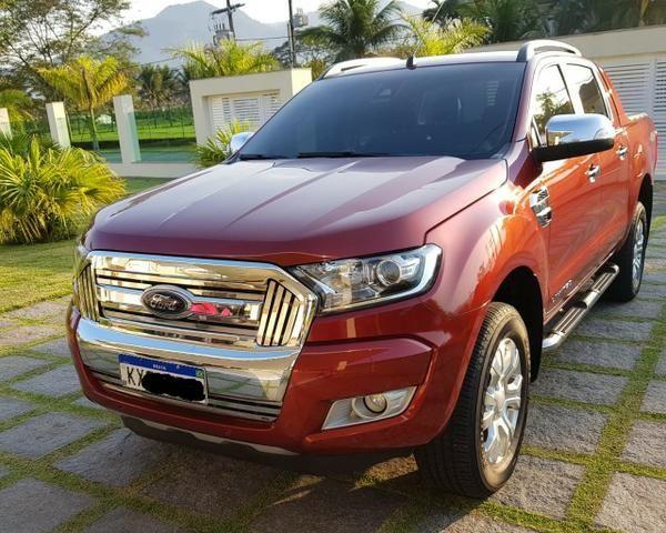 Ranger 3.2 Diesel 4x4 Limited - KM Real o carro é ZERO - Consigo Financiamento - 2017
