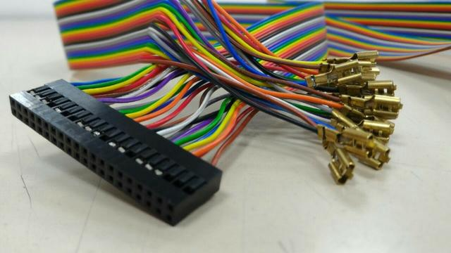 Cabo Gpio Raspberry Pi3 Para Recalbox Zero Delay + Terras