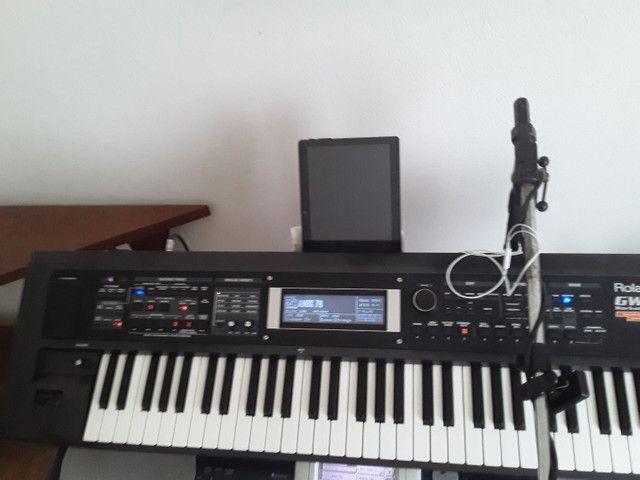 Teclado Roland gw8 versão  2  , oportunidade.. - Foto 2
