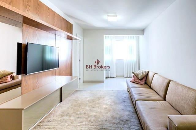 Apartamento para alugar com 3 dormitórios em Funcionários, Belo horizonte cod:BHB20867