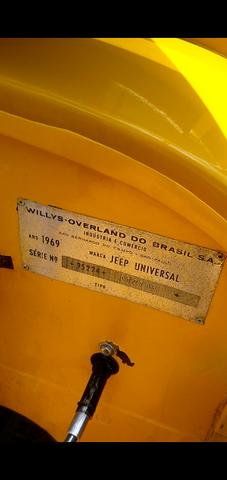 Jeep Willis reliquia 69/69 original - Foto 4