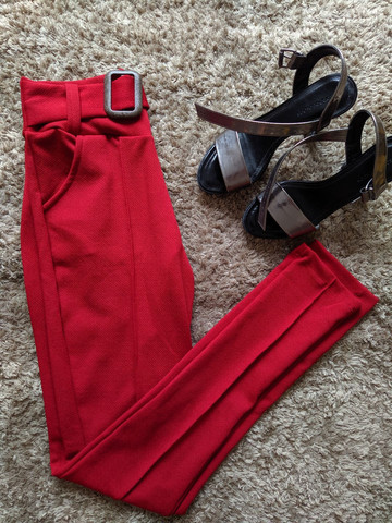 Calça colors em malha crepe produtos femininos