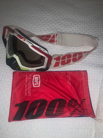 Oculos motocross downhill 100% - Foto 3