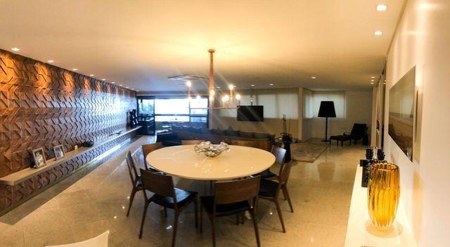 Apartamento com 252 metros com 3 suítes na praia de jatiuca - Foto 5