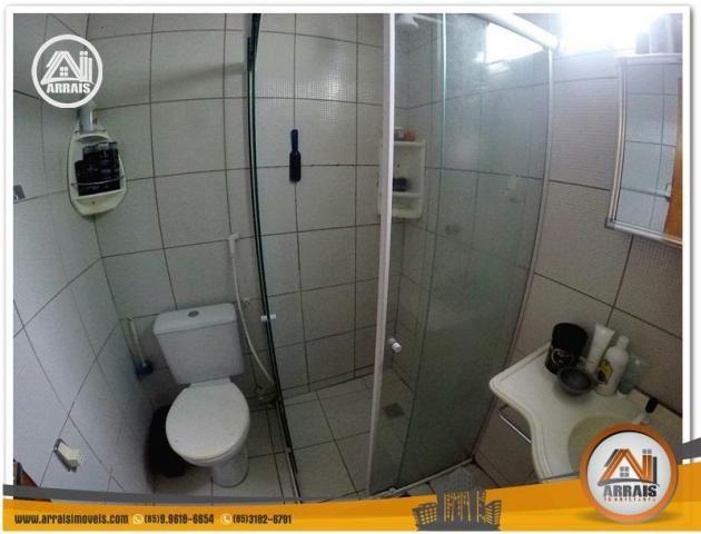 Casa com 3 dormitórios à venda, 100 m² por R$ 350.000,00 - Benfica - Fortaleza/CE - Foto 12