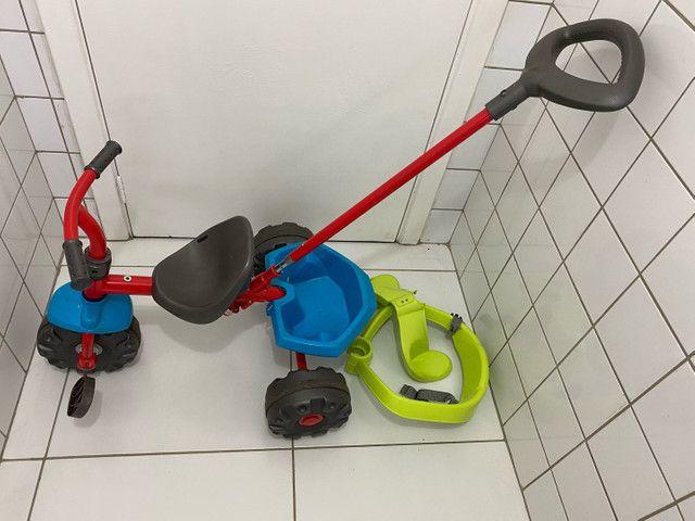 Triciclo infantil smart plus