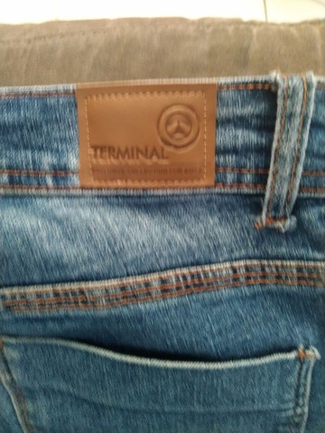 Calça Jeans Tam 16 - Foto 4