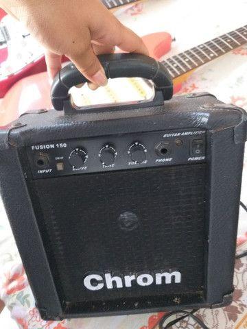 Caixa amplificadora chrom - Foto 2