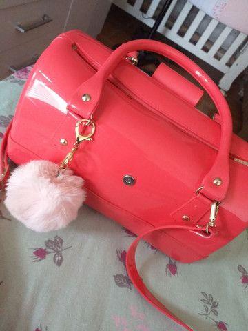 Bolsa Petit Jollie Rosa Pink semi nova - Foto 2