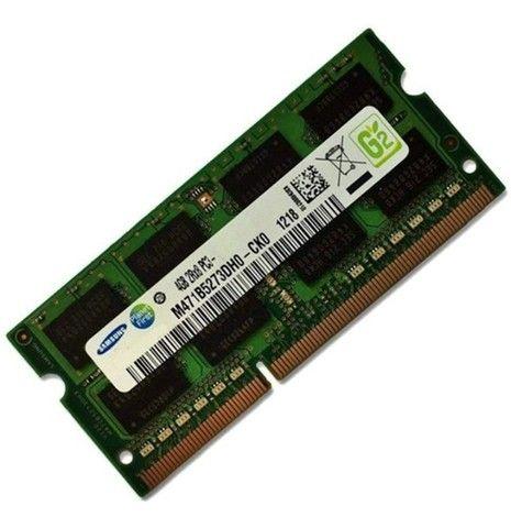 Memória Samsung 4gb 1600Mhz DDR3 - P/ Notebook - Foto 2