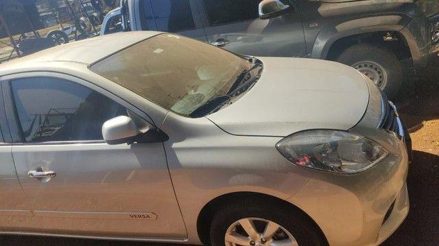 Sucata Nissan Versa 2013 Revisado Para Retirada Para Peças - Foto 9