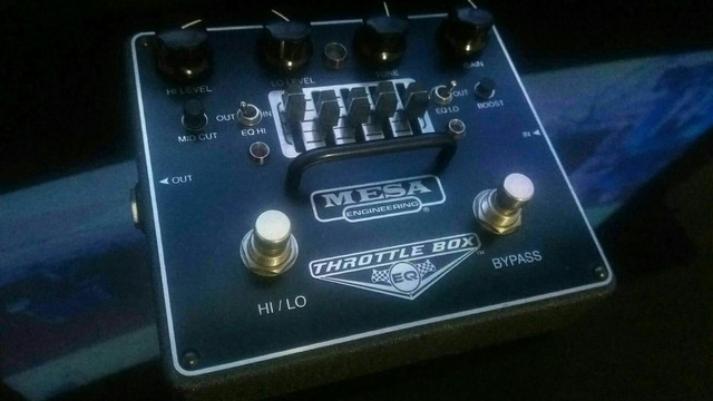 Pedal Overdrive mesa boogie