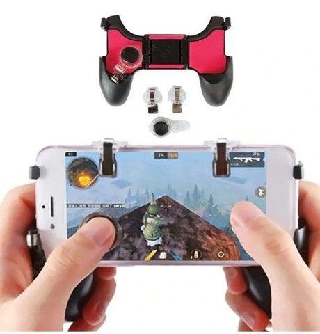 (NOVO) Gamepad Controle Para Celular 5 Em 1 Gatilho + Analógico