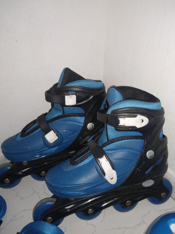 Vendo esse patins com o kit completo - Foto 5