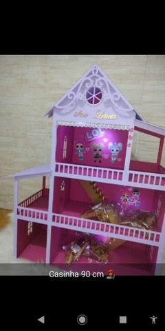 Casinha de boneca polly {60cm} chama no chat e faça a sua casinha e veja o preço  - Foto 3
