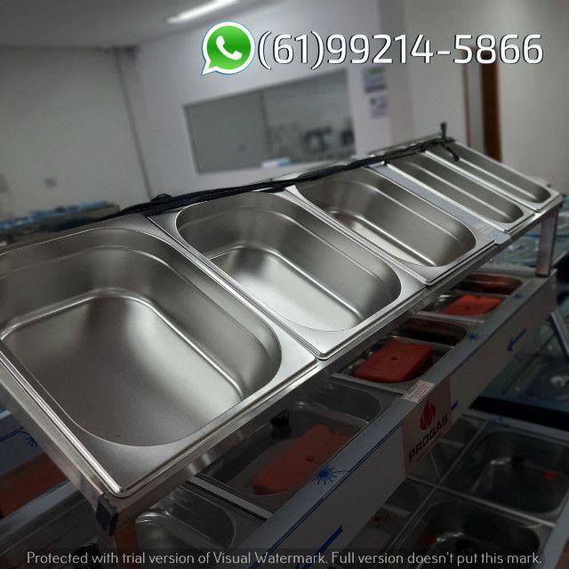 Condimentadora 5 cubas Inox Kit Pizzaiolo Italinox - Foto 3