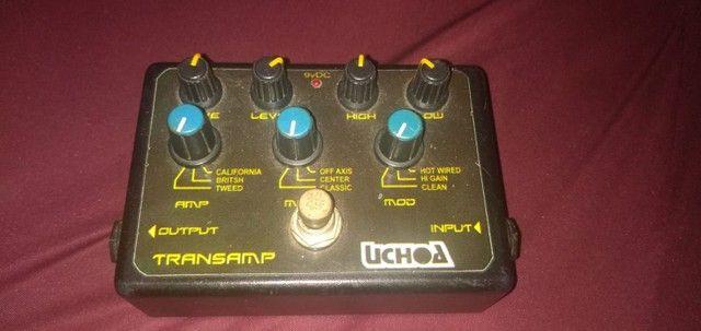 Pedal de volume da Boss e uma transamp Uchoa - Foto 4