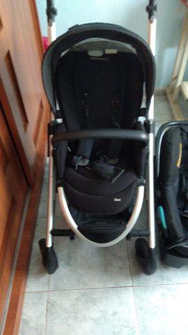 2 Carrinhos de bebê poucos usado mais bebê conforto - Foto 4