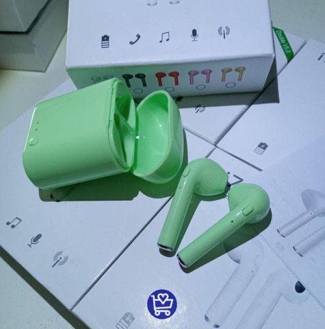 Fone i7s Mini Tws Colorido - Foto 2