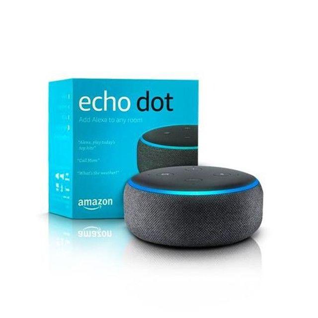 Echo Dot Amazon 3ª Geração Smart Speaker Com Alexa Wi-Fi