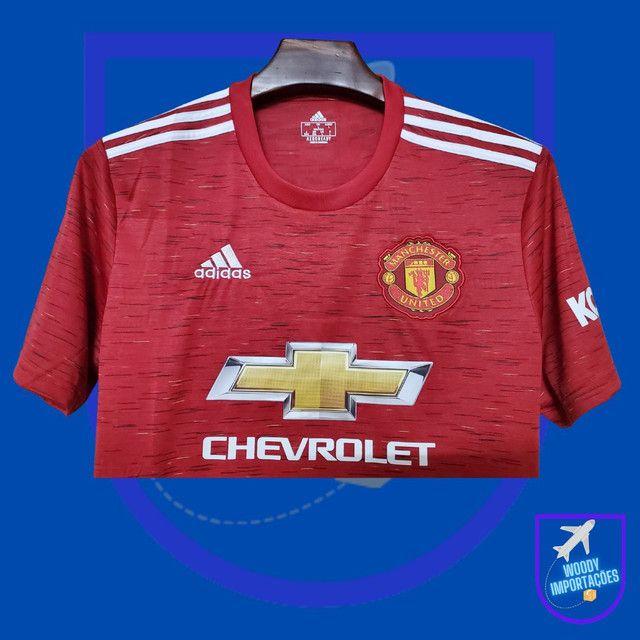 Camisa I Manchester United 20/21 - Foto 4