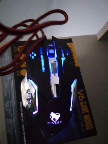 Mouse Gamer 6 Botões Professional USB RGB Novo Lacrado!!!