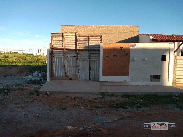 Casa com 3 dormitórios à venda, 90 m² por R$ 170.000,00 - Salgadinho - Patos/PB - Foto 2