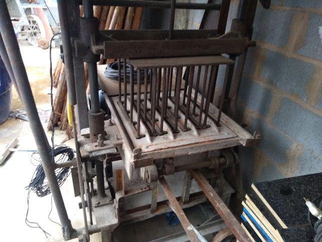 Maquina para blocos 10formas