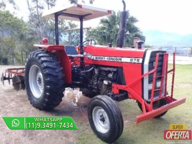 Trator Massey Ferguson 275 4x2 ano 82 - Foto 2