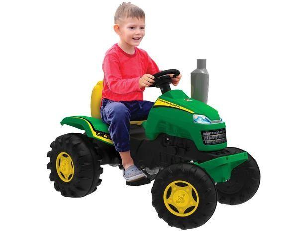 Mini Trator a Pedal Infantil Trator Country - Bandeirante - Foto 2
