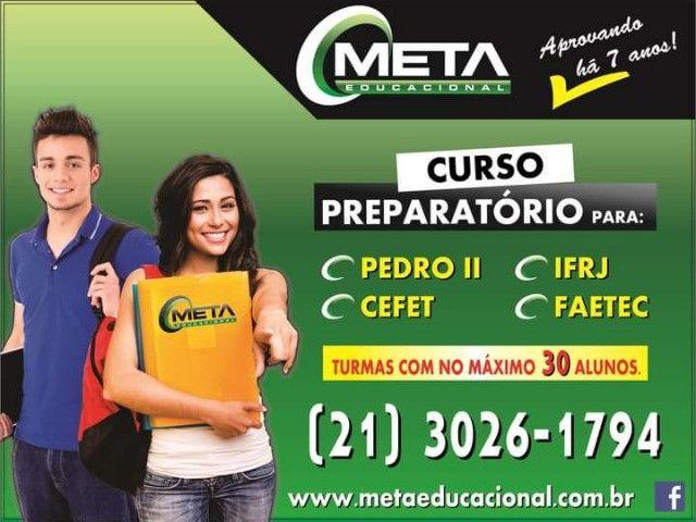 Curso Preparatório para Colégio Pedro II, IFRJ, Cap's, Faetec