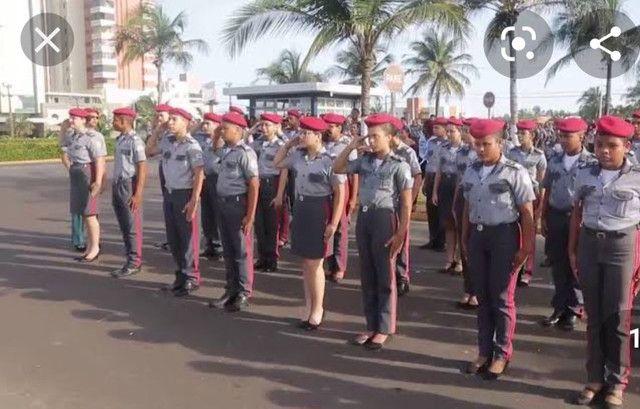 Uniforme Feminino colégio Militar