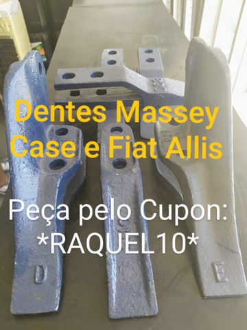 Dentes Massey Case e Fiat Allis - Foto 2