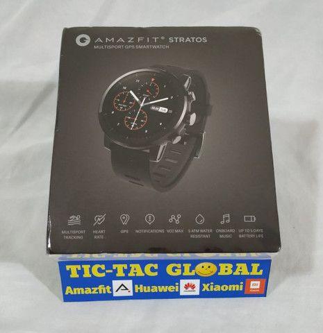 Promoção!!! Amazfit STRATOS 2 - versão global - (novo lacrado) Relógio Smartwatch - Foto 2