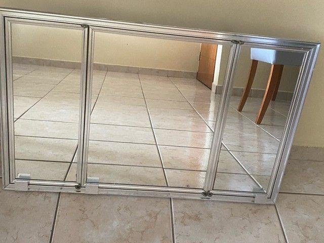 Espelheira de embutir para banheiro - Marca Cris Metal - Foto 3