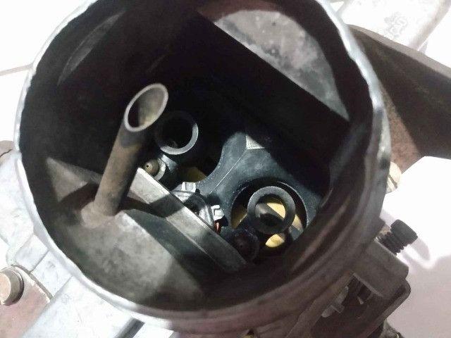 Carburador DFV 446 gasolina com coletor, filtro e cabo de acelerado - Foto 5