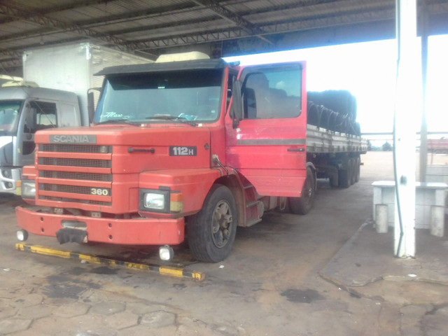 Scania 112h engatado carreta khronne 88 - Foto 15