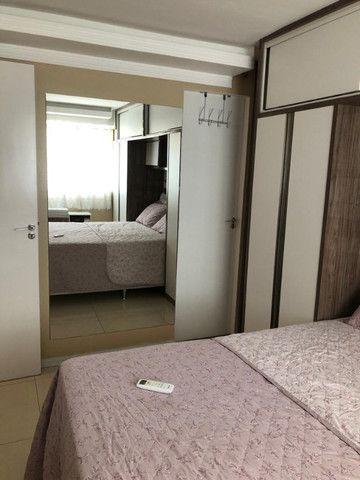 Apartamento todo mobiliado no Condomínio Soberano V Nascente (sombra) 2 Vagas Lazer Comp - Foto 17