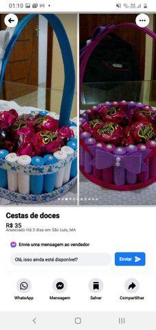 Lindas cestas de bombons  - Foto 3