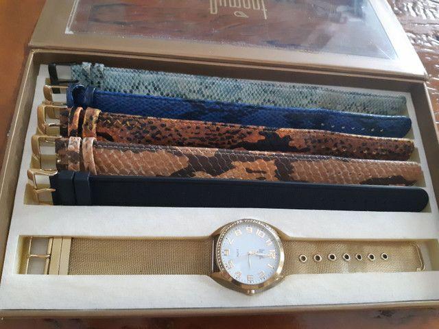 Relógio Dumont, troca pulseira, usado. - Foto 2