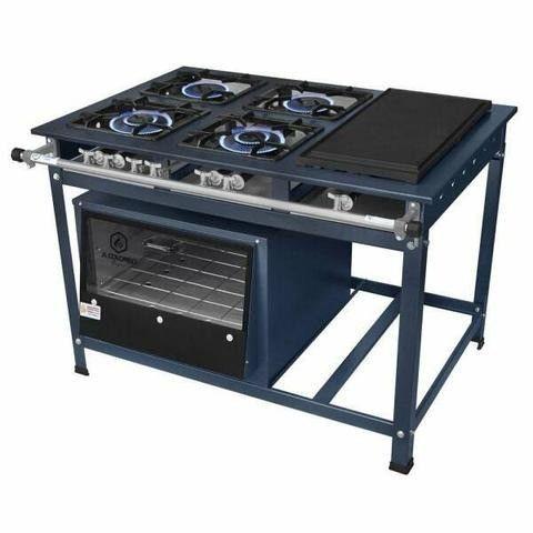 Manutenção de fogão e forno industrial e semi industrial