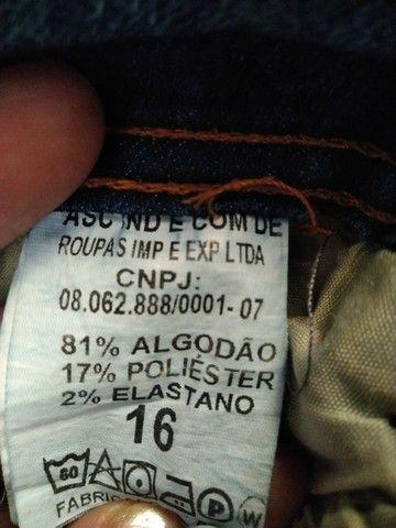 Calça Jeans Tam 16 - Foto 3