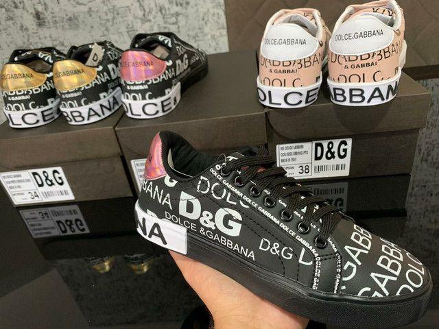 Dolce e Gabbana Primeira Linha na Caixinha Atacado - Foto 3