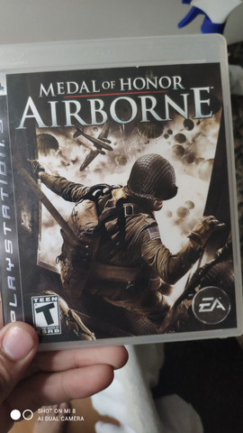 Jogo PS3 Medal of Honor AIRBORNE ( IMPECÁVEL)