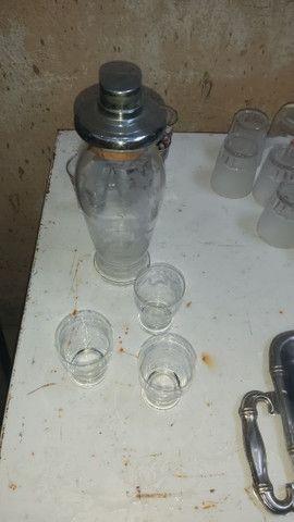 Coqueteleira de vidro