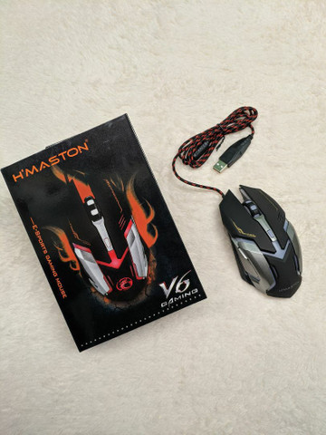 Mouse Gamer com LEDs