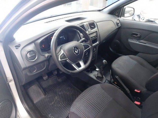 Renault Logan Life 1.0 2020 Completo ( Financiamento Sem Entrada !) - Foto 8