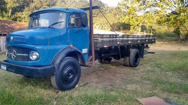 Caminhão MB 1111 ano 1965 - Foto 3