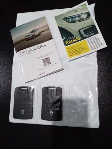 Renault Captur Bose 1.6 câmbio CVT,4.000km,placa B,garantia de fábrica até 2023,impecável! - Foto 16