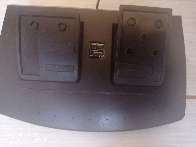 Volante GT Multilaser Playstation 2 PC - Foto 2
